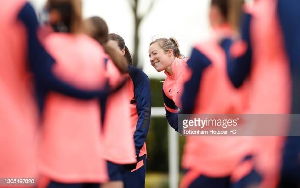 Gemma Davison of Tottenham Hotspur Women during the Tottenham Hotspur Women training session at Tottenham Hotspur Training Centre on March 05, 2021...