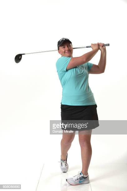 Gemma Dryburgh of Scotland poses for a portrait during the LPGA KIA CLASSIC at the Park Hyatt Aviara on March 21 2018 in Carlsbad California