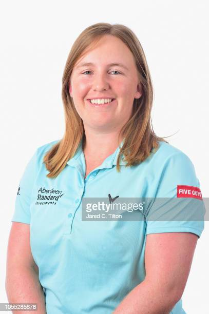 Gemma Dryburgh of Scotland poses for a portrait during the LPGA Q Series Head Shots session at Pinehurst Resort on October 29 2018 in Pinehurst North...