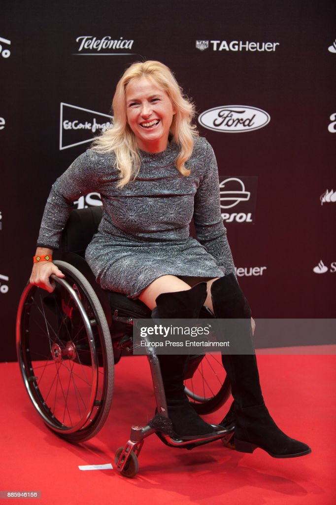 Gemma Hassen-Bey attends the 'As del Deporte' and 'As' sports newspaper 50th anniversary dinner at the Palacio de Cibeles on December 4, 2017 in Madrid, Spain.