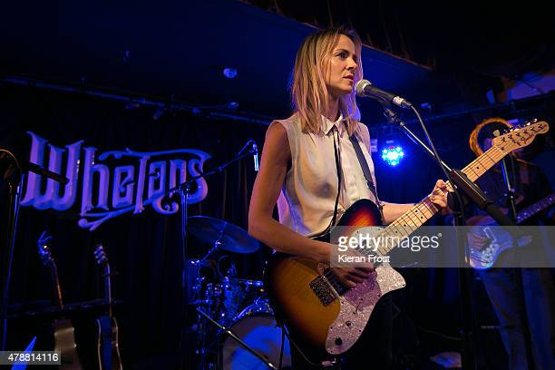 Gemma Hayes performs at Whelan's on June 27 2015 in Dublin Ireland
