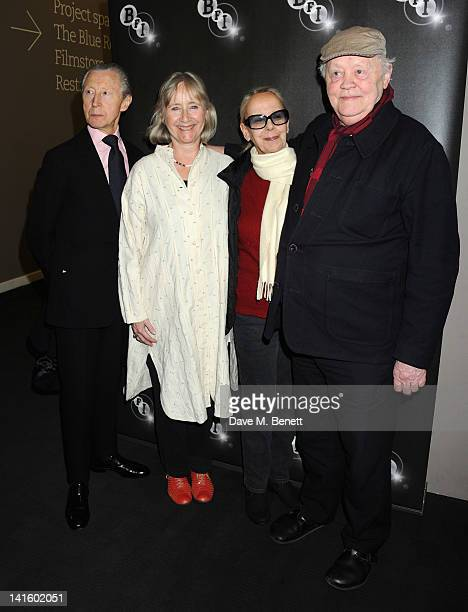 Gemma Jones Murray Melvin Georgina Hale and Dudley Sutton attend cast reunion of The Devils in Memory of Director Ken Russell at BFI Southbank on...
