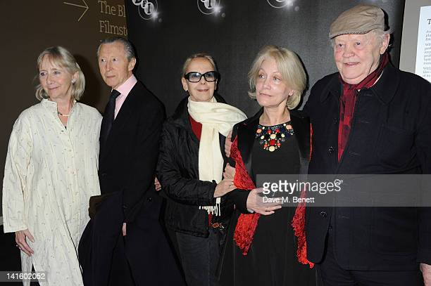 Gemma Jones Murray Melvin Georgina Hale Lisi Tribble and Dudley Sutton attend cast reunion of The Devils in Memory of Director Ken Russell at BFI...