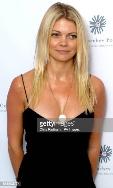 Gemma Kidd arrives at the Raisa Gorbachev Foundation Russian Ball at Althorp House Northamptonshire PRESS ASSOCIATION Photo Picture date Saturday...