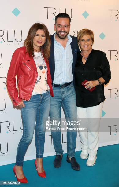 Gemma Lopez Kike Calleja and Chelo Garcia Cortes attend the presentation of the launching of Terelu Campos's first jewellry collection 'TRLU' on May...