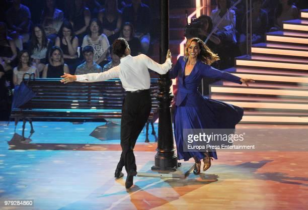 Gemma Mengual during 'Bailando con las estrellas' TVE programme on June 19 2018 in Barcelona Spain