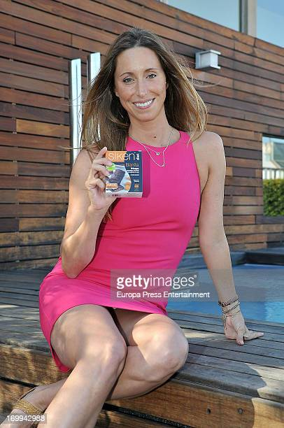 Gemma Mengual presents a new dietary product 'Siken' during a press conference at Hotel omm on June 4 2013 in Barcelona Spain