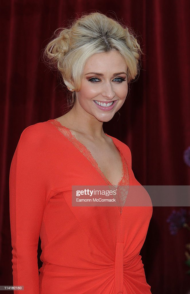 Gemma Merna attends 'The British Soap Awards' at Granada Television Studios on May 14, 2011 in Manchester, England.