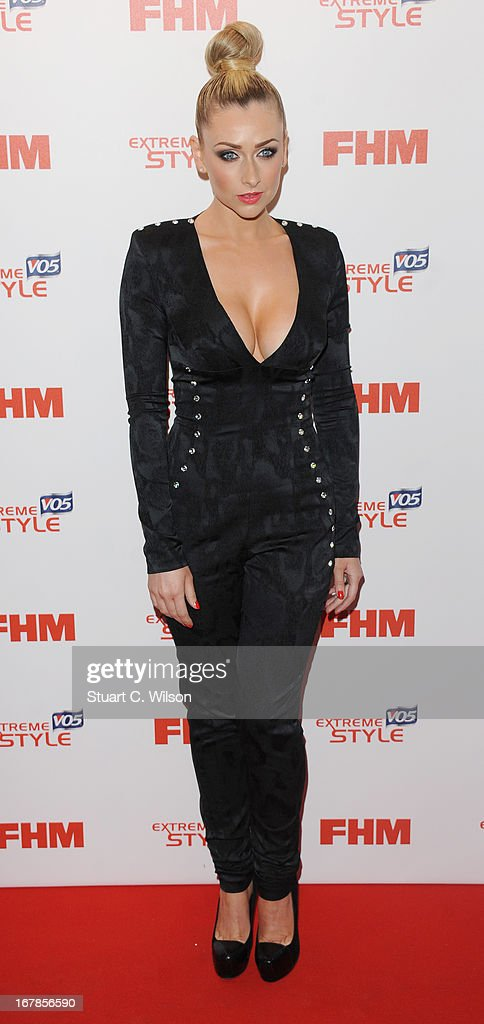 Gemma Merna attends the FHM 100 Sexiest Women In The World 2013 Launch Party at Sanderson Hotel on May 1, 2013 in London, England.