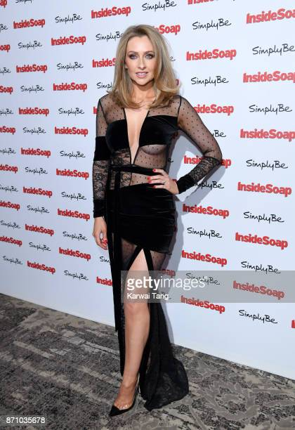 Gemma Merna attends the Inside Soap Awards at The Hippodrome on November 6 2017 in London England