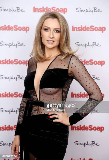 Gemma Merna attends the Inside Soap Awards held at The Hippodrome on November 6 2017 in London England