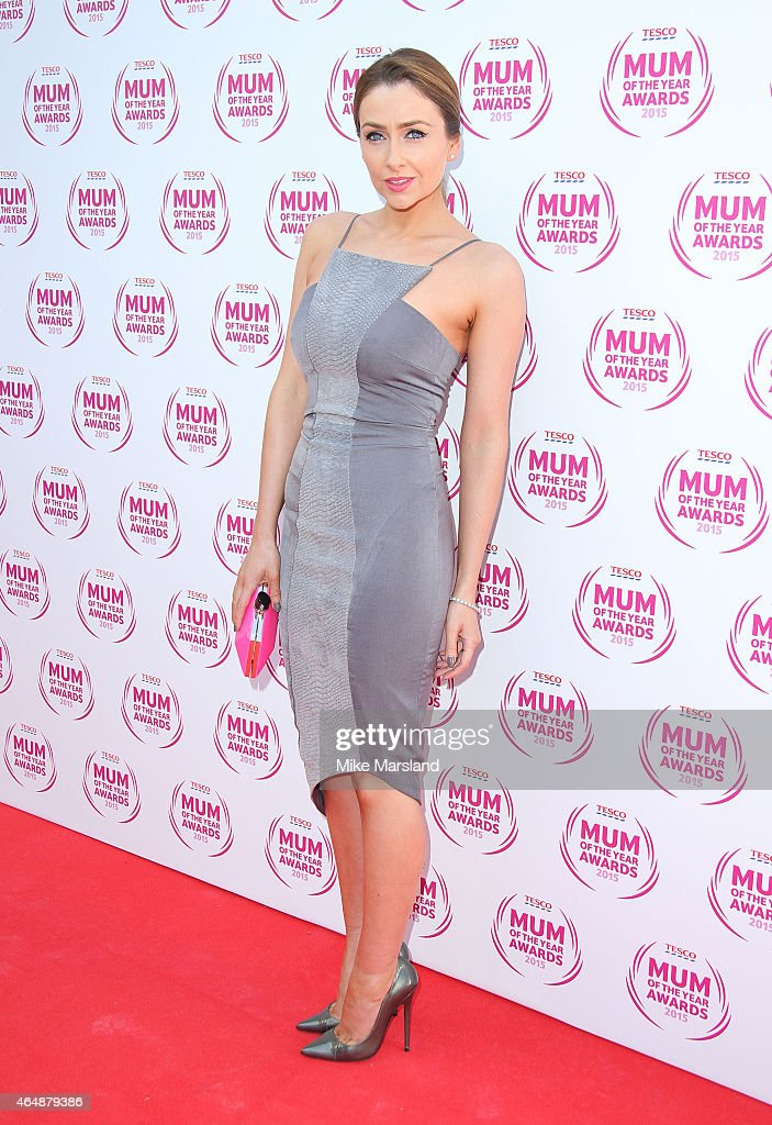 Gemma Merna attends the Tesco Mum of the Year Awards at The Savoy Hotel on March 1, 2015 in London, England.