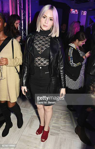 Gemma Styles attends an intimate gig by Rita Ora at the newly relaunched Tezenis store at Oxford Circus crossing to celebrate Rita's recent lingerie...