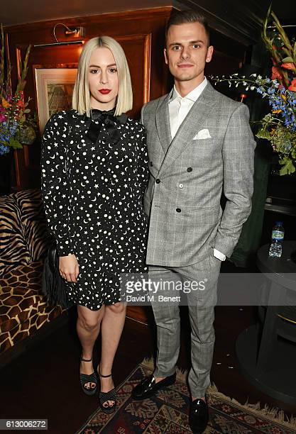 Gemma Styles attends the Another Man A/W launch event hosted by Harry Styles Alister Mackie and Kris Van Assche at Albert's Club on October 6 2016 in...