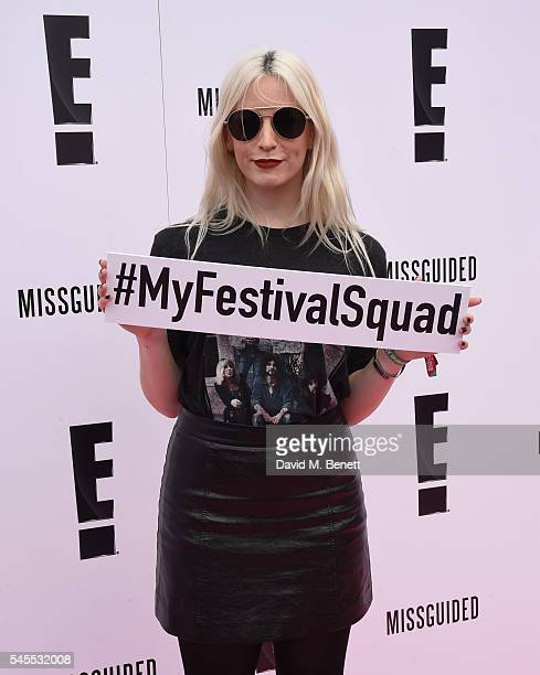 Gemma Styles attends the E Lounge at Wireless Festival 2016 on July 8 2016 in London England