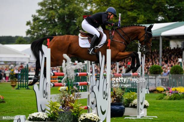 Gemma Tattersall riding Artic Soul in the Show Jumping during Day Four of The Land Rover Burghley Horse Trials 2017 on September 3 2017 in Stamford...