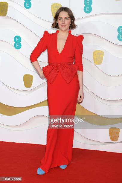 Gemma Whelan arrives at the EE British Academy Film Awards 2020 at Royal Albert Hall on February 2, 2020 in London, England.
