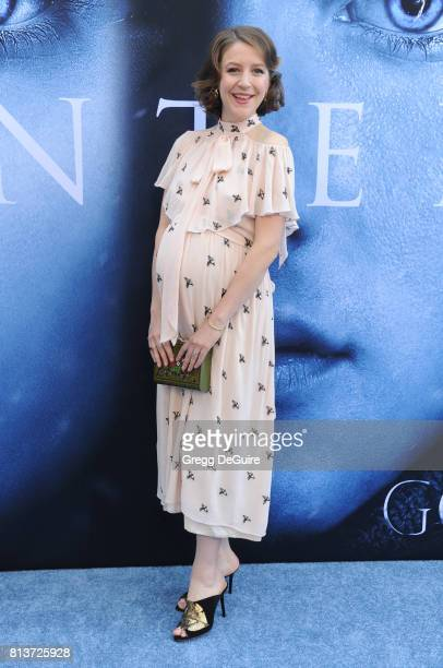 Gemma Whelan arrives at the premiere of HBO's Game Of Thrones Season 7 at Walt Disney Concert Hall on July 12 2017 in Los Angeles California