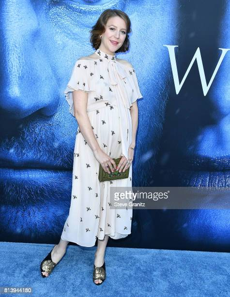 Gemma Whelan arrives at the Premiere Of HBO's 'Game Of Thrones' Season 7 at Walt Disney Concert Hall on July 12 2017 in Los Angeles California