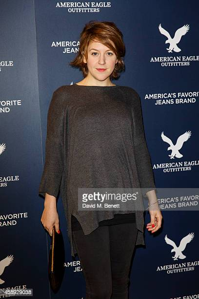 Gemma Whelan attends the American Eagle Outfitters VIP store launch at Westfield London on November 13 2014 in London England