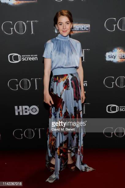 Gemma Whelan attends the Sky Atlantic 'Game of Thrones' Season 8 premiere at Waterfront Hall on April 12 2019 in Belfast Northern Ireland