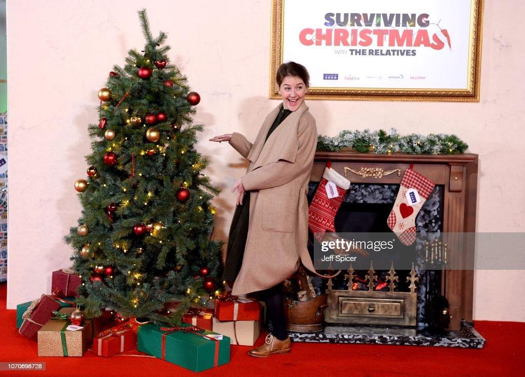 Surviving Christmas.Gemma Whelan Attends The Surviving Christmas With The