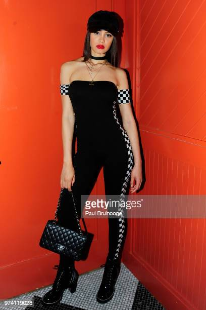 Gemmy Quelliz attends MarVista Entertainment And Parkside Pictures With The Cinema Society Host The After Party For 'The Year Of Spectacular Men' at...