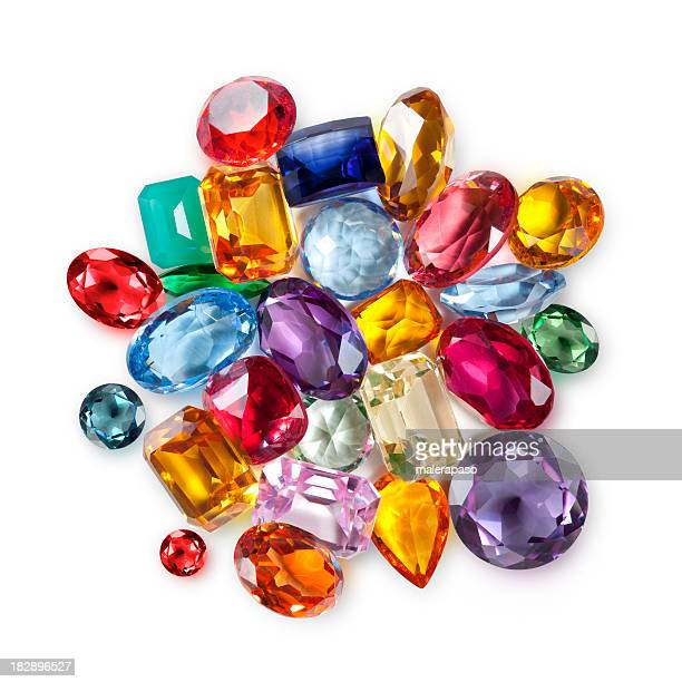 gemstones - diamond gemstone stock pictures, royalty-free photos & images