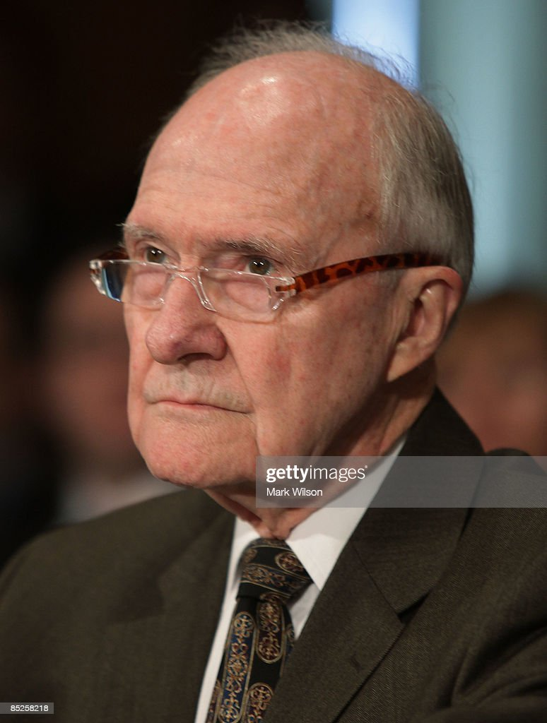 Gen. Brent Scowcroft, former national security adviser, participates in the Senate Foreign Relations Committee hearing on Capitol Hill on March 5, 2009 in Washington, DC. The SFRC committee, chaired by Sen. John Kerry (D-MA), is hearing testimony on the United States' strategy in dealing with Iran and reports on their nuclear program.