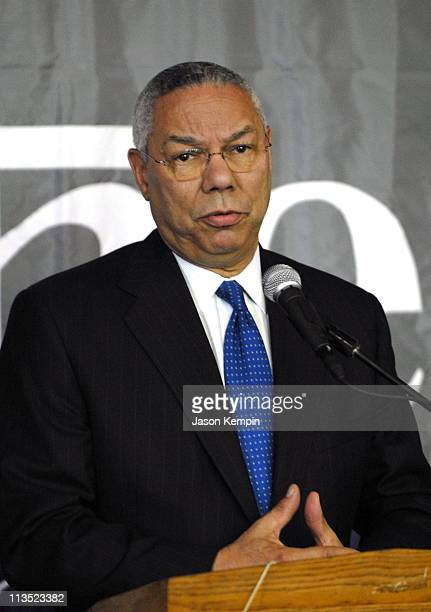 Gen Colin Powell announces a major gift to The City College of New York and the formation of an Advisory Board for the Colin Powell Center for Policy...