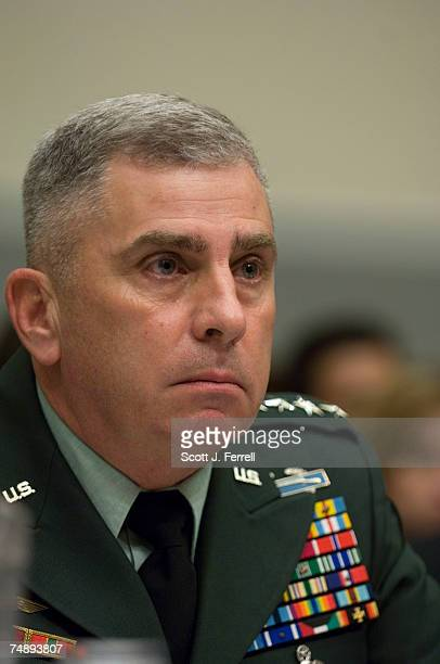 Gen John Abizaid commander of US Central Command during the House Armed Services hearing on the situation in Iraq