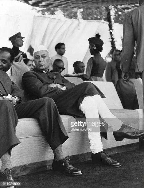 gen `Pandit' Nehru14111889 Politiker Indien um 1957