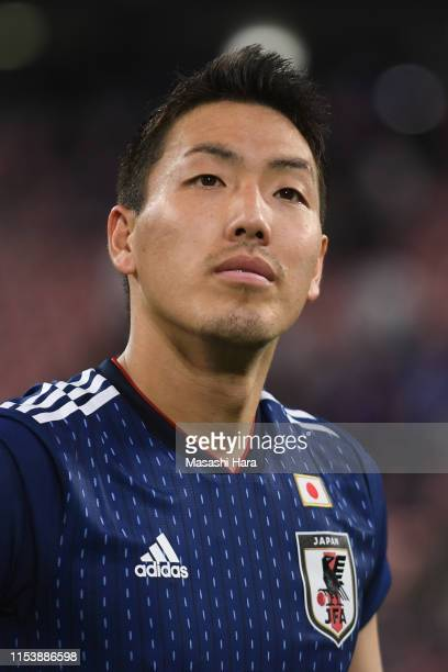 Gen Shoji of Japan looks on after the international friendly match between Japan and Trinidad and Tobago at Toyota Stadium on June 05 2019 in Toyota...