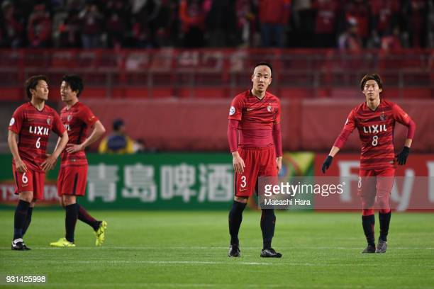 Gen Shoji of Kashima Antlers looks on after the AFC Champions League Group H match between Kashima Antlers and Sydney FC at Kashima Soccer Stadium on...