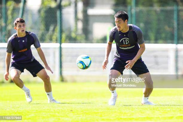 Gen Shoji of Toulouse during a Toulouse FC Training session on July 4 2019 in Toulouse France