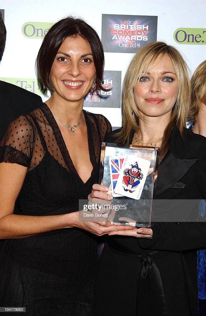 Gena Bellman And Sarah Alexander, British Comedy Awards At Lwt Studios In London, Pressroom