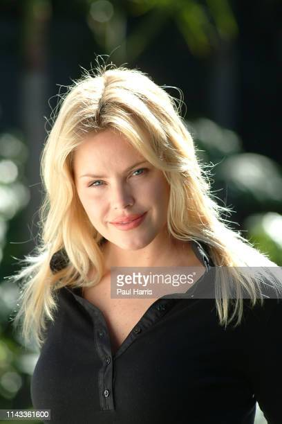 Gena Lee Nolin an actress in Baywatch and The Young The Restless photographed February 1 2003 at the Viceroy Hotel Santa Monica California