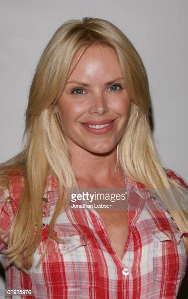 Gena Lee Nolin attends the Barnum's FUNundrum presented by Ringling Bros and Barnum Bailey at Staples Center on July 15 2010 in Los Angeles California