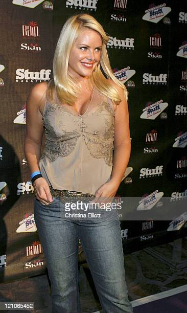 Gena Lee Nolin during Stuff Magazine Casino Weekend at the Palms Hotel at Palms in Las Vegas Nevada United States