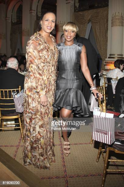 Gena Lovett and Mary J Blige attend 59th Annual New York Junior League Winter Ball at The Grand Ballroom on March 5 2011 in New York City