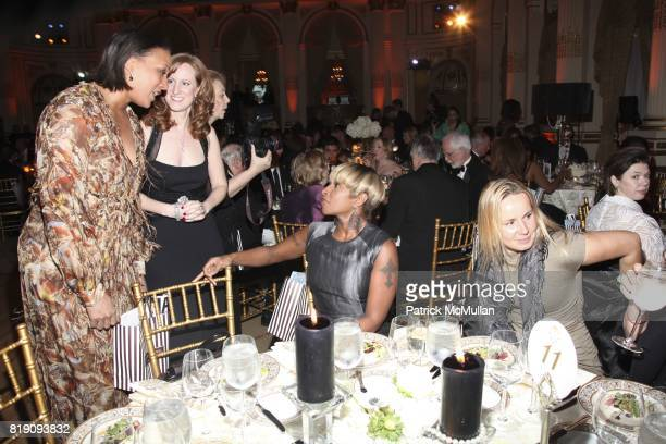 Gena Lovett Lisa Hathaway Stella and Mary J Blige attend 59th Annual New York Junior League Winter Ball at The Grand Ballroom on March 5 2011 in New...