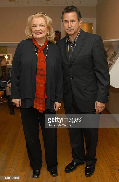 Gena Rowlands and Anthony Lapaglia during 12th Annual Hamptons International Film Festival A Conversation With Gena Rowlands and Anthony Lapaglia at...