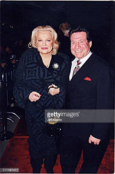 Gena Rowlands at the 1998 premiere of Playing by Heart in Los Angeles.