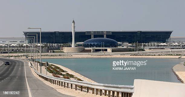 A genaral view taken on October 29 2013 shows the facilities of Hamad International Airport in Doha AFP PHOTO / ALWATAN DOHA / KARIM JAAFAR == QATAR...