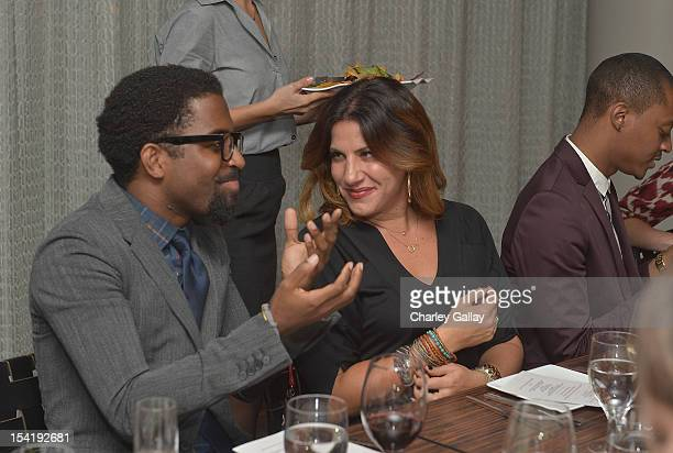 GenArt President Lara Bandler attends GenArt's 14th Annual Fresh Faces In Fashion Intimate Dinner at Andaz on October 15 2012 in West Hollywood...