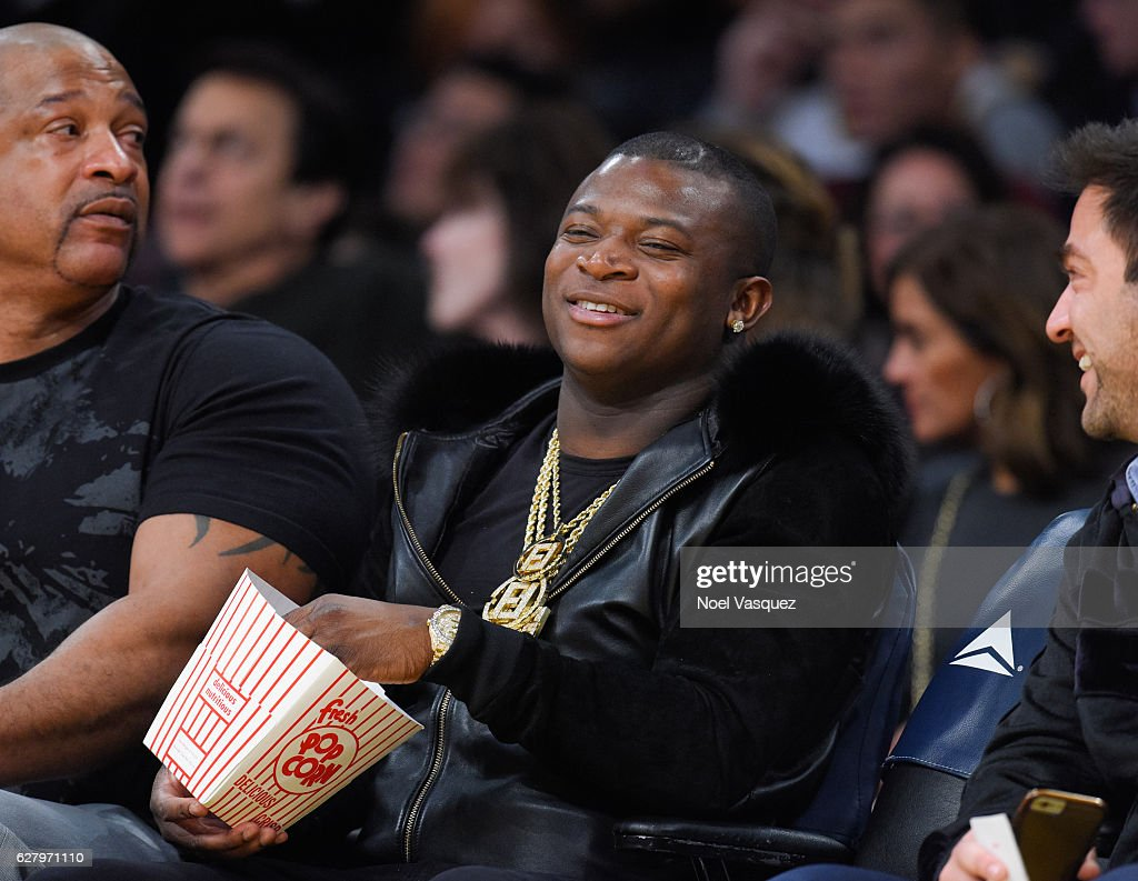 O.T. Genasis attends a basketball game between Utah Jazz and the Los Angeles Lakers at Staples Center on December 5, 2016 in Los Angeles, California.