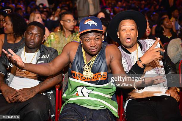 T Genasis attends the 2015 BET Hip Hop awards at Boisfeuillet Jones Atlanta Civic Center on October 9 2015 in Atlanta Georgia