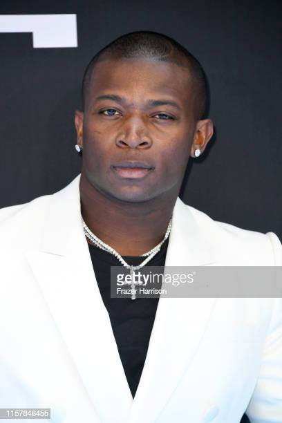 T Genasis attends the 2019 BET Awards on June 23 2019 in Los Angeles California