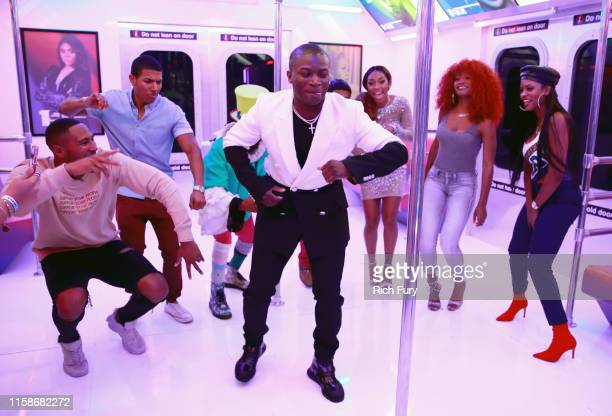 T Genasis attends the InstaCarpet during the BET Awards 2019 at Microsoft Theater on June 23 2019 in Los Angeles California