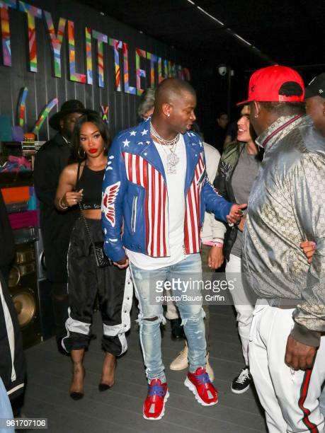 T Genasis is seen on May 22 2018 in Los Angeles California